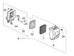 61330071 воздушный фильтр в сборе